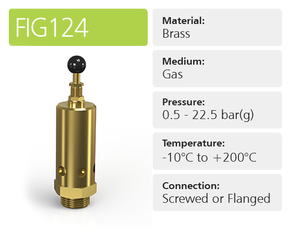 Fig124 Open Discharge Pressure Relief Valves