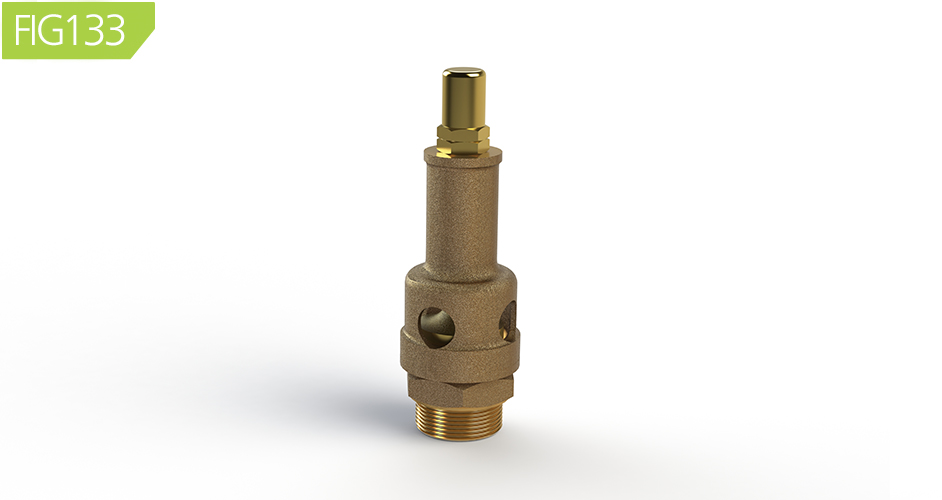 FIG133 Open Discharge Pressure Relief Valves